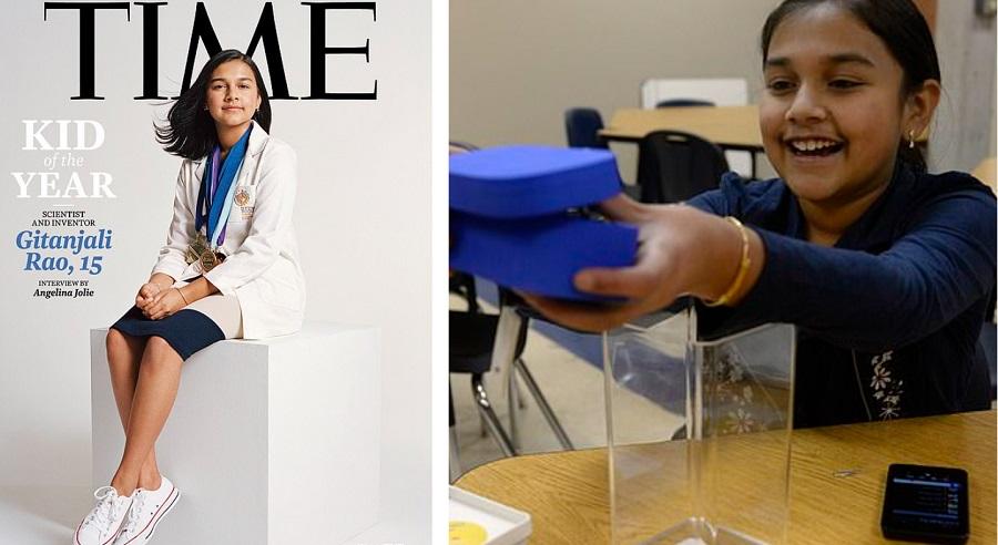 《時代》雜誌首位「年度風雲兒童」─15歲女童科學家