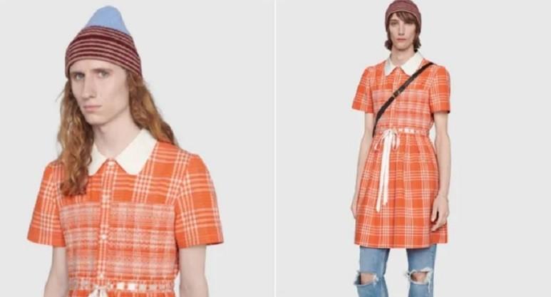 打破「有毒的男性刻板印象」?Gucci預計推出格子洋裝