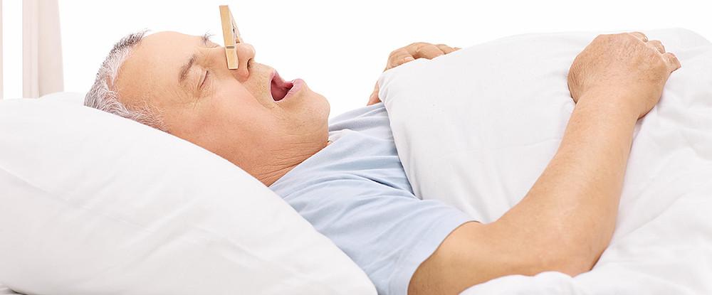 治療睡眠呼吸中止 可降低癡呆症的風險