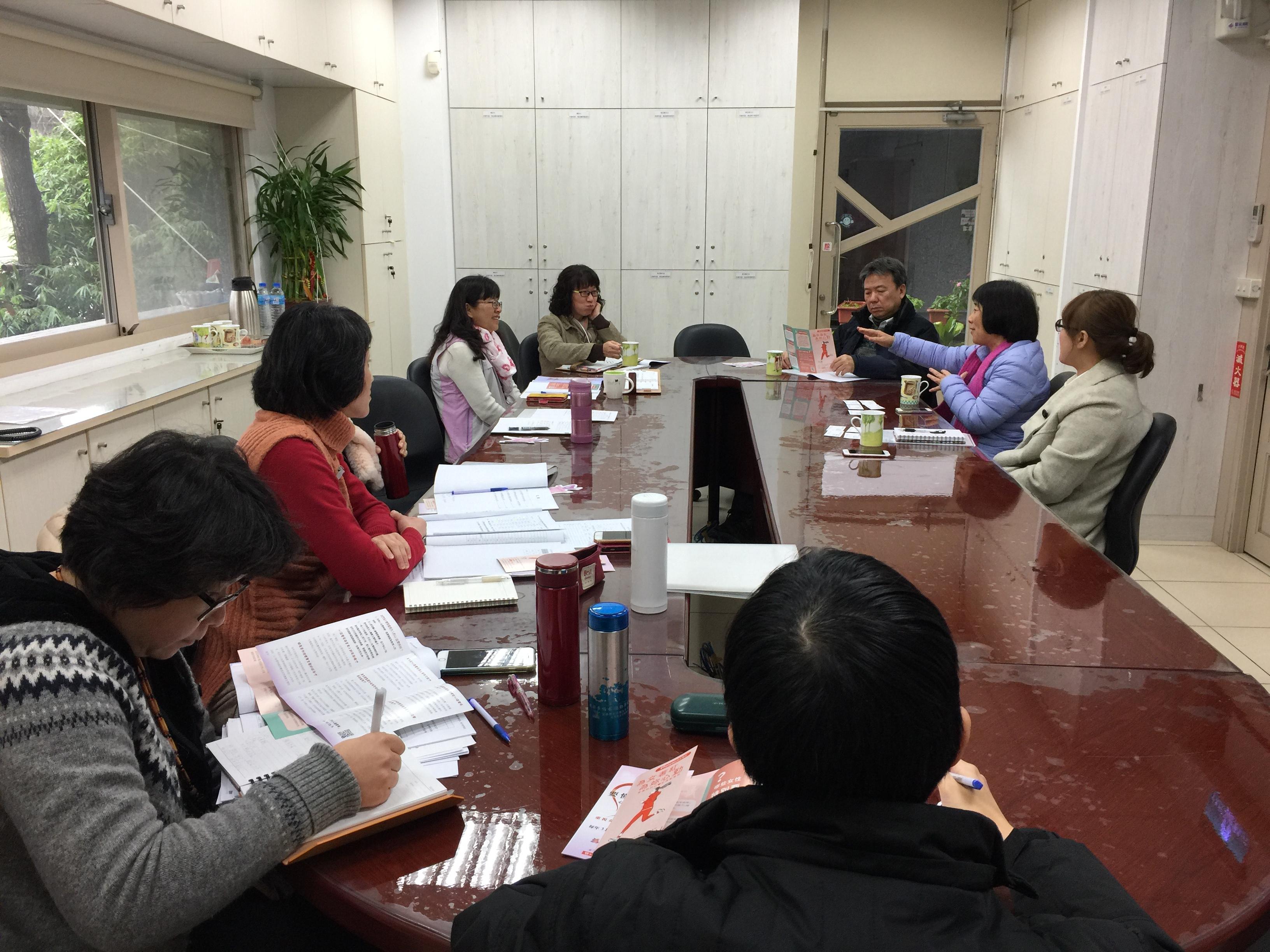 台灣女人連線拜會宜蘭縣衛生局