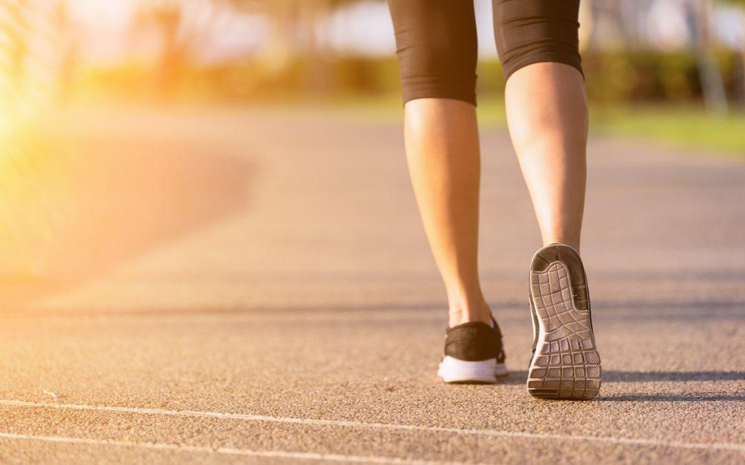 單靠每天走一萬步,可能走不掉體重!